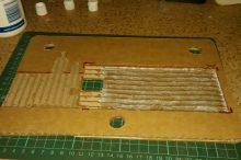 Back part PVA-glued together